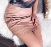 Новая юбка под кожу