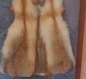 🦊Меховая жилетка из лисы