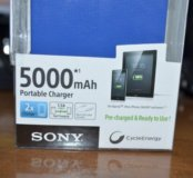 Внешний аккумулятор оригинал Sony 5000 mah