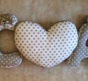 Буквы - подушки ко дню любви