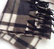Мужской шарф клетчатый