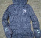 Курточки для девочки 122-128-134