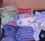 Вещи пакетом детские