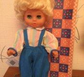 Кукла ГДР,80-х годов, в коробке, 36 см