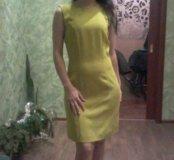 Новое платье салатовое