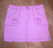 Юбка розовая XL