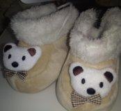 Ботиночки теплые пинетки для малышей