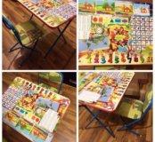 Новый стол со стульчиком для детей
