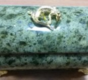 Новая шкатулка из натурального камня.
