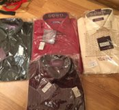 Новые рубашки conti uomo