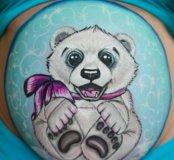Боди-арт на беременных