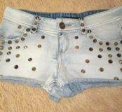 Шорты джинсовые 40-42