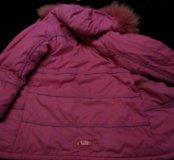 Куртка-пальто зимнее теплое