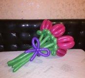 Тюльпаны из шариков
