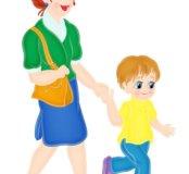 Встречу ребёнка с садика, школы (няня )