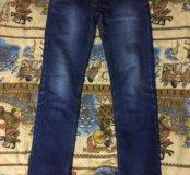 Мужские тёплые джинсы