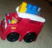Машинка лего