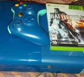 Xbox 360 E slim blue 500gb