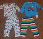 Новый набор из двух пижам mothercare