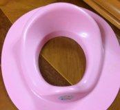 Детская сидушка для взрослого туалета
