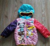 Продам японскую курточку на 1 годик