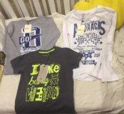 Новые лонги и футболка р 110