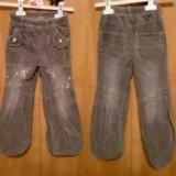 Утепленные брюки на флисе,  р. 100-116
