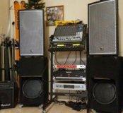 Комплект музыкальной аппаратуры 3.2 кВт / система