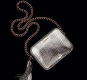 Серебряная crossbody сумка Victoria's secret