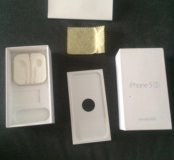 Коробка от айфона 5s серебряный