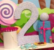 Цифра на день рождения малышу