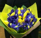 Букеты из тюльпанов на заказ