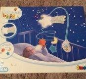 Мобиль на кроватку smoby космос