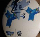 Значок с Олимпиады Сочи 2014 Фольксваген