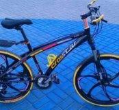 Велосипед на литых дисках с гидравликой rd8423