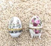 Шкатулки яйцо