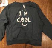 Свитшот толстовка свитер Zara новый