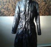 Утепленное демисезонное пальто
