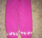 Теплые штанишки и кофточка