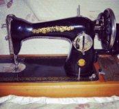 Швейная машина, рабочая