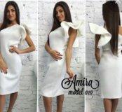 Стильное платье Крыло