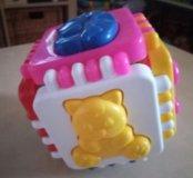 Развивающая игрушка Кубик