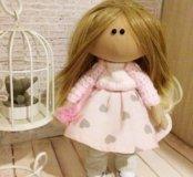 """Текстильная кукла """"Мелиса"""""""