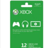 Продам Xbox Live Gold 12 Month Membership Card Xb