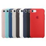 Силиконовый чехол с того для iPhone 7 (9 цветов)