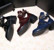 Balenciaga ботинки полусапоги