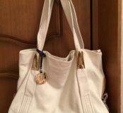 Новая сумка натуральная кожа v. Fabbiano