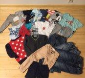 Куча одежды пакетом