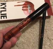 Матовая помада+карандаш