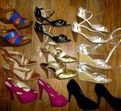 Обувь много